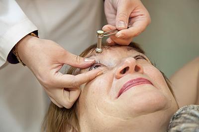 Глазное давление 21-23